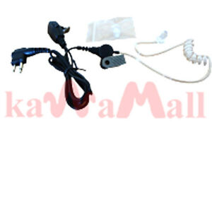 KAWAMALL Concealed Ear Piece Headset Mic for Motorola 2-way CP-200 XTN Radios