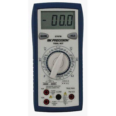 Bk Precision 2707b Manual Ranging True Rms Tool Kit Digital Multimeter