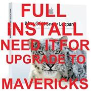 Mac OS x Leopard Upgrade