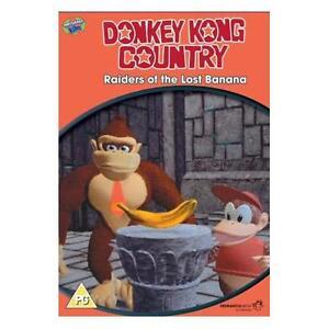 Donkey Kong  'Raiders of the Lost Banana' (DVD)  New!