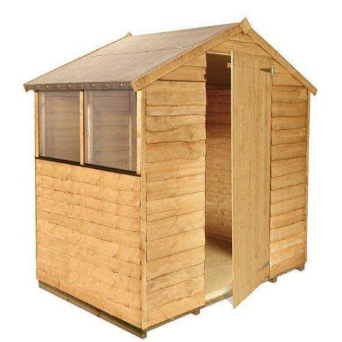 Wooden garden sheds ebay for Buy potting shed