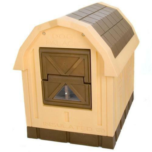 Dog house door ebay for Dog house with a door