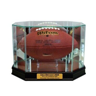 New Dez Bryant Dallas Cowboys Glass and Mirror Football Display Case UV