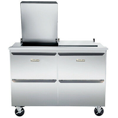 Traulsen UST7230-DD Dealer's Choice Compact Prep Table Refrigerator