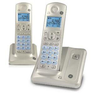 NEW / GE 28512AE2 DECT 6.0 CORDED / CORDLESS PHONE SET