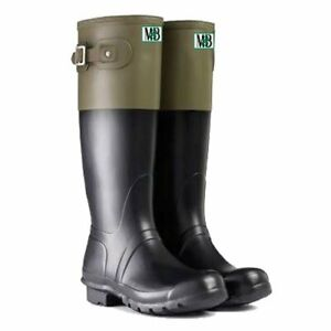 Moneysworth and Best Women's Trend Rubber Boots, new in box, 9US