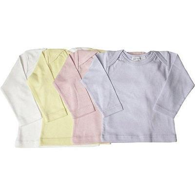 Under the Nile Organics Long Sleeved Lap Shoulder Tees - Choice of Color & Size