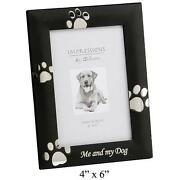 Paw Print Photo Frame