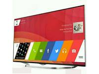 "LG 55"" Ultra HD 4K Smart 3D LED TV with Freeview HD & Built-In Wi-Fi. 3YRS WARRANTY NEW CONDITION"