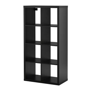 IKEA KALLAX shelf - Black/Brown - Two available