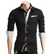 Mens Slim Fit Shirt Medium