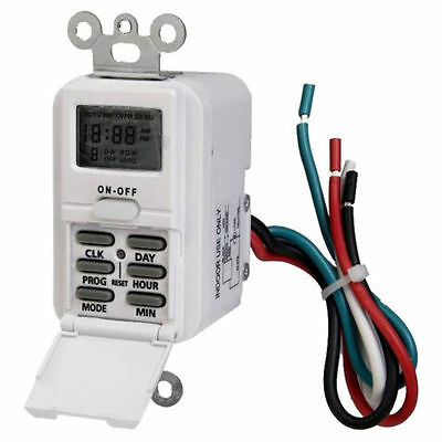 Westek Tmdw10 Programmable Weekly Switch Timer 125 V 15 A 7 On-off Cycles Per