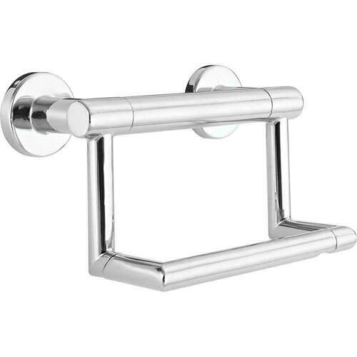 41550 Delta - Decor Assist Contemporary Toilet Paper Holder Assist Bar - Chrome