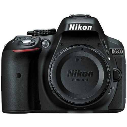 Nikon D5300 DSLR Camera (Body Only) Black 1519