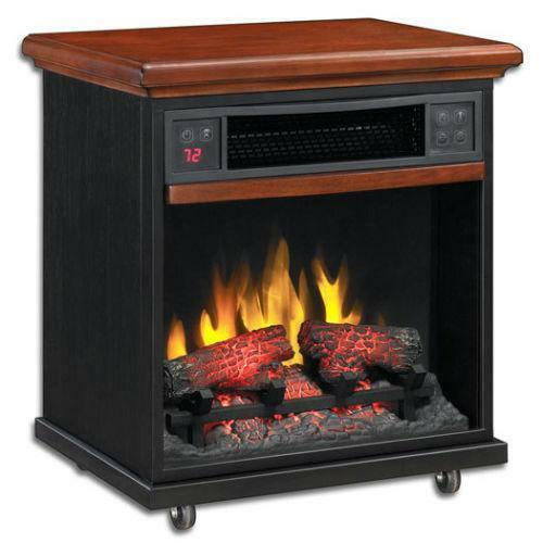 duraflame electric heater ebay. Black Bedroom Furniture Sets. Home Design Ideas