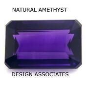 Emerald Cut Amethyst