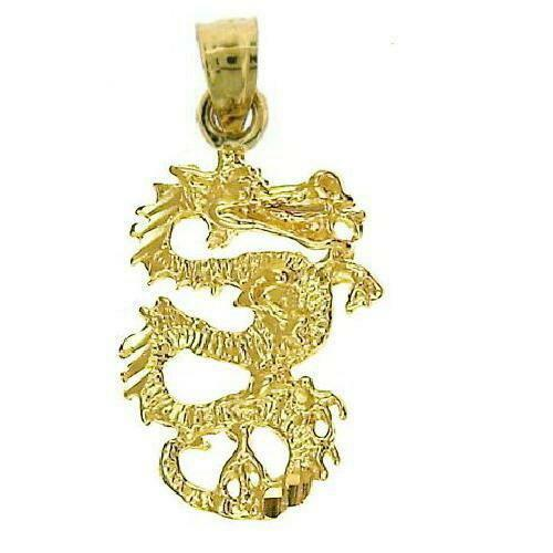 Gold Dragon Pendant Ebay