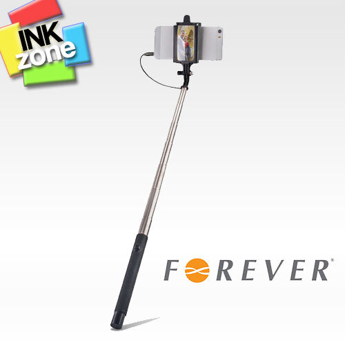 Selfie Stick Monopod Telescopic Arm 1m long *** WITH MIRROR AND AUDIO CABLE ***
