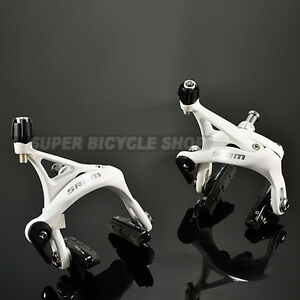 New-SRAM-Apex-Road-Bike-Brake-Calipers-Set-Front-Rear-White
