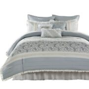 9 Piece Queen Comforter Set
