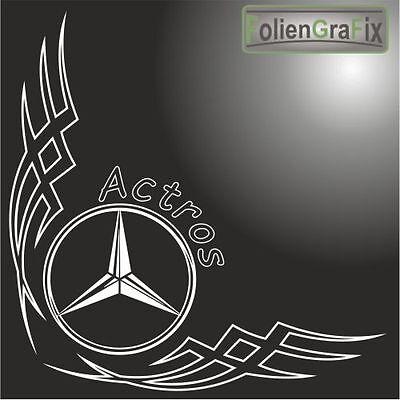 LKW Scheibendekor/Aufkleber für Mercedes 1030