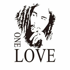New- Bob Marley One Love DIY Room Vinyl Decal Wall Art Sarnia Sarnia Area image 1