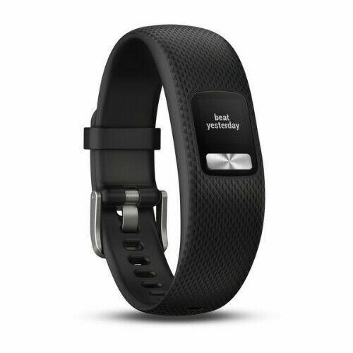 Garmin Vivofit 4 Activity Tracker Unisex Black Band Smart Watch 010-01847-10