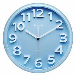 Plumeet Large Wall Clock, 13 Silent Non-Ticking Quartz Decorative Clocks