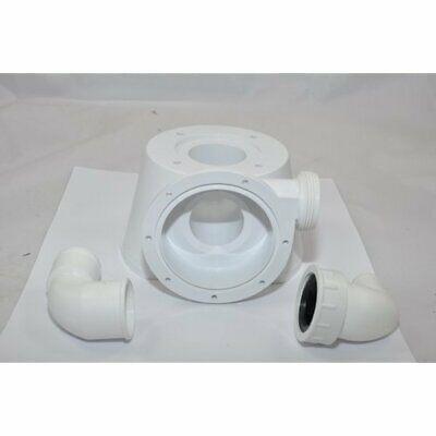 Johnson Pump Silentpremium Series Electric Toilet Base 81-47247-01