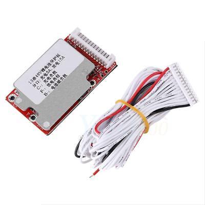 13S 48V/54.6V Li-ion Lithium Cells 18650 Battery Protection BMS PCB Board zhn