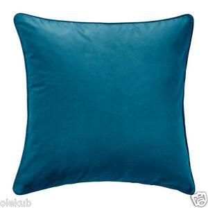 Ikea sanela cushion cover dark turquoise decor cover for Ikea uk cushion covers
