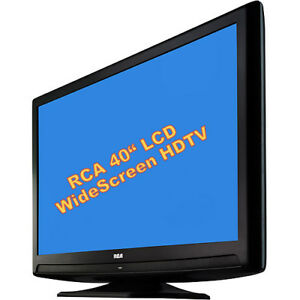 "RCA HDTV 40"" True 1080p HD LCD Wide Screen Television, on Stand"