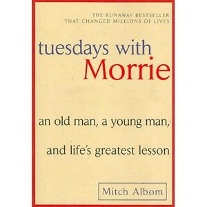 2 Mitch Albom Books for $5 -Tuesdays With Morrie and Five People