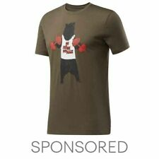 Reebok Men's Bear Crew Tee