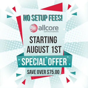 FREE Setup on Unlimited High Speed Internet - Starting Aug 1st