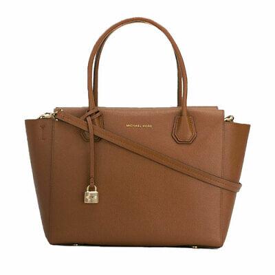 NWT Michael Kors Handbag Satchel Mercer  Leather Luggage MSRP $328 (Michael Kors Colorful Handbags)