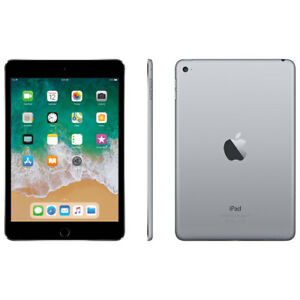 iPad Mini 4 - 128GB (w/cover & charger)