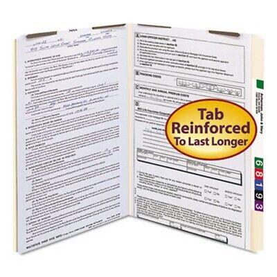 Smead Folders 2 Fasteners Straight Cut Tab Legal Manila 50box Smd19513
