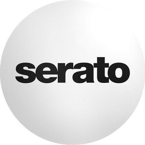 """Serato Butter Rug Slipmat (12"""", Pair, Black on White)"""