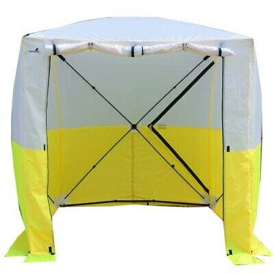 1.8x1.8x2m Pop Up Work Tent Shelter Welding Screen Curtain Maintenance Telecom