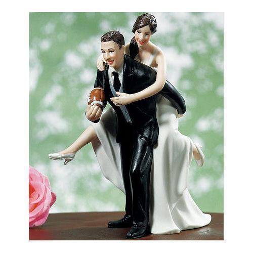Football Wedding Cake Topper | eBay
