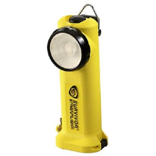 Streamlight 90541 Survivor 6.75 inch LED Emergency flashlight Firefigher Yellow