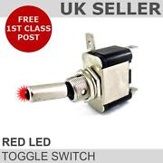 Illuminated Toggle Switch