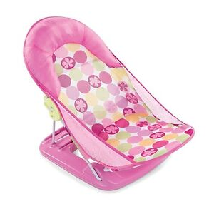 Baby Bather Pink Circle Daisy