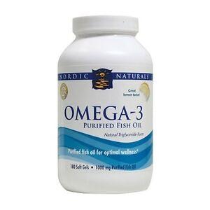 Omega 3 purified fish oil lemon flavoured 180 soft gels for Lemon fish oil