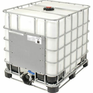 330 Gallon Container with plastic pallet base x3