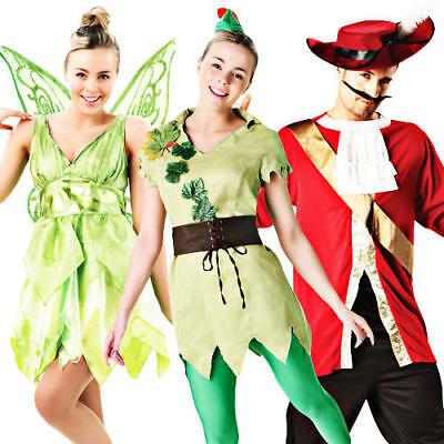 Disney Peter Pan Adult Fancy Dress Fairytale Neverland Book Week Costume - Peter Pan Disney Kostüm