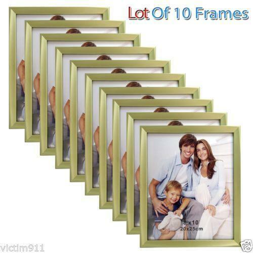 8x10 Picture Frame Lot Ebay
