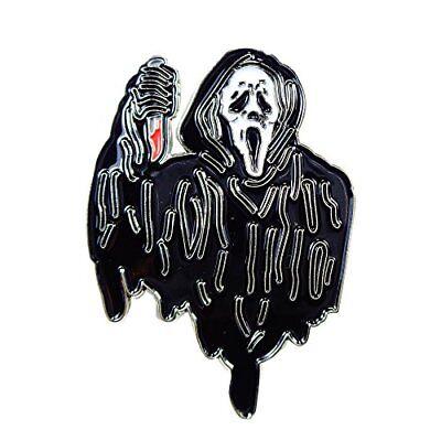 Scream Ghost Knife Gory Horror Movie Enamel Pin Lapel - Scream Knife