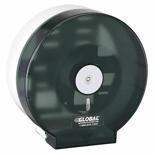 """Plastic Jumbo Bathroom Tissue Dispenser, One 9"""" Roll"""